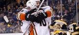 RECAP: Getzlaf score in OT as Ducks rally past Bruins