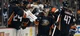 RECAP: Ducks clinch Pacific Division title, rout Oilers 5-1