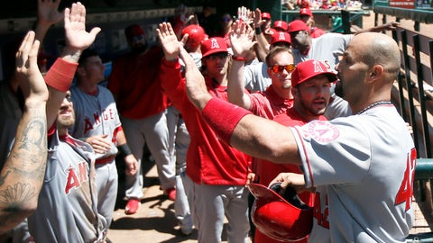Gallery: Angels honor Jackie Robinson