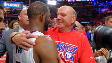 Los Angeles Clippers: $2 billion