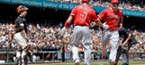RECAP: Trout, Pujols both homer but Angels fall to Giants
