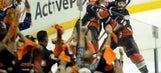 RECAP: Perry puts Ducks past Flames 3-2 in OT, into conference finals