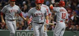 RECAP: Angels hit 3 HRs in 12-5 win over Red Sox