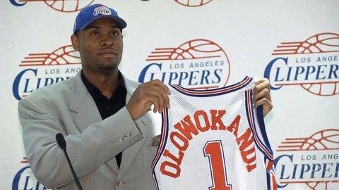 1998: Michael Olowokandi, L.A. Clippers