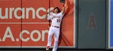 Nieuwenhuis dazzles in first start for Angels with spectacular catch