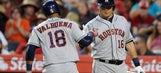 RECAP: Valbuena, Correa power Astros to 13-3 rout of Angels