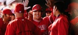 RECAP: Trout hits 2 home runs in Angels' 3-2 win over Rockies