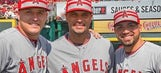 Angels' Hector Santiago uses All-Star week to be '100 percent fan' (VIDEO)