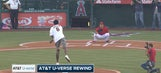 Watch: Angels Live crew analyzes first pitch from Clippers' DeAndre Jordan