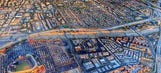 WOW moment: Goodyear Blimp's fantastic photo of Anaheim, Angel Stadium