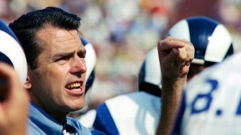 George Allen, head coach, 1966-70