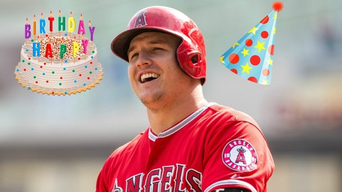Trout at 25: Counting down 5 of the birthday boy's best moments