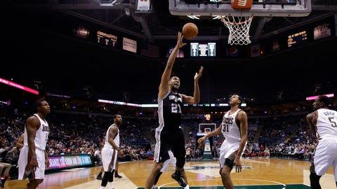 Spurs at Bucks: 12/12/13