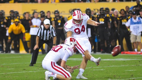 Kyle French, ex-Badgers kicker