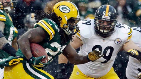 Steelers at Packers: 12/22/13