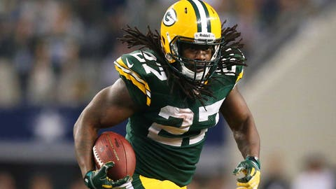 The Seahawks choosing Eddie Lacy over Adrian Peterson and Jamaal Charles