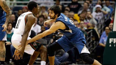 Timberwolves at Bucks: 12/28/13