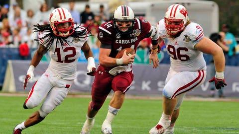 Badgers vs. Gamecocks (Capital One Bowl): 1/1/14