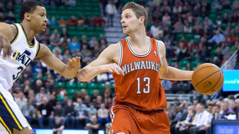Milwaukee Bucks at Utah Jazz: 1/2/14