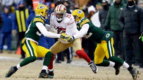 49ers at Packers: 1/5/13