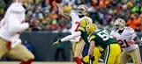 49ers edge Packers 23-20 in frigid wild-card game