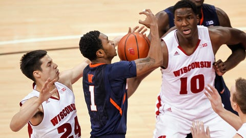 Fighting Illini at Badgers: 1/8/14