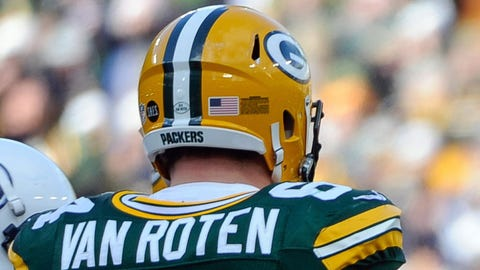 Greg Van Roten, Packers offensive lineman