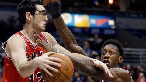 Bulls at Bucks: 1/10/14
