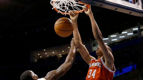 Bucks at Thunder: 1/11/14