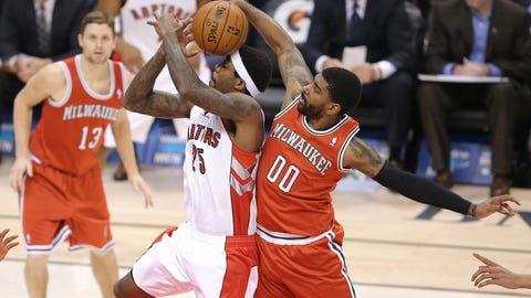 Bucks at Raptors: 1/13/14