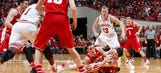 Indiana upsets No. 3 Badgers 75-72