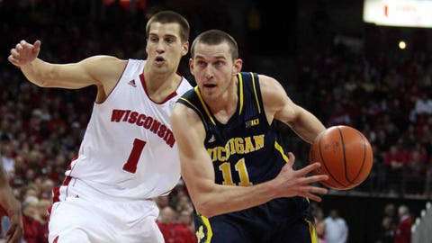 Wolverines at Badgers: 1/18/14