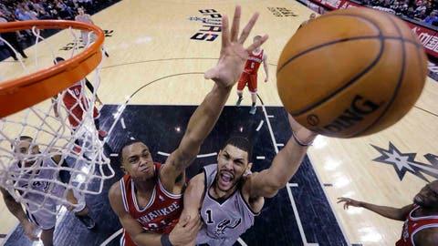 Bucks at Spurs: 1/19/14
