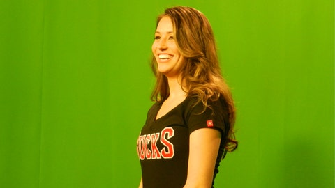 Behind the Scenes: FOX Sports Wisconsin Girls Green Screen Shoot