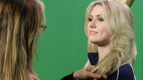 Behind the Scenes: FOX Sports Wisconsin Girls Green Screen Shoot
