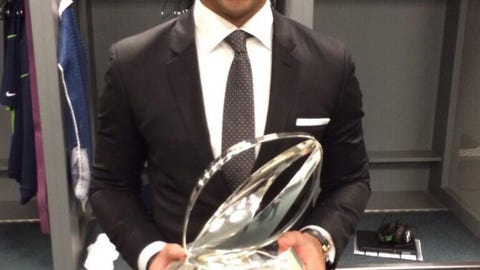 Russell Wilson, Seattle Seahawks and former Wisconsin Badgers quarterback