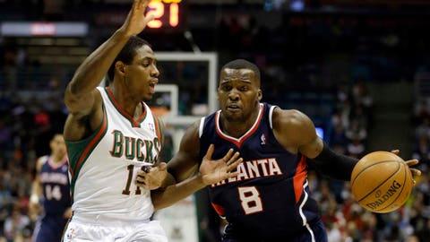 Hawks at Bucks: 1/25/14