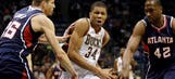 Bucks routed by Hawks, lose 11th of 12