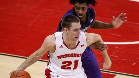 Wildcats at Badgers: 1/29/14