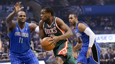 Bucks at Magic: 1/31/14