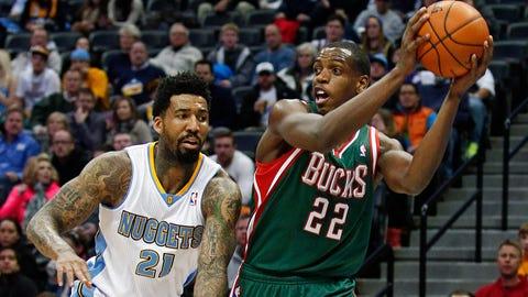 Bucks at Nuggets: 2/5/14