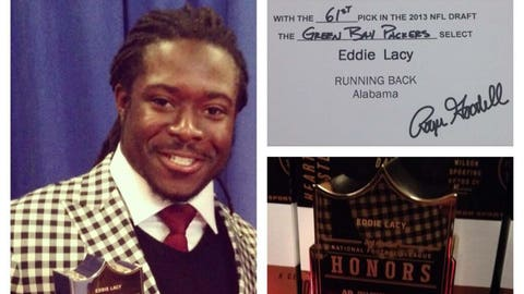 Eddie Lacy, RB, Green Bay Packers