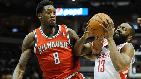 Rockets at Bucks: 2/8/14