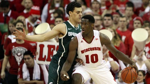 Spartans at Badgers: 2/9/14