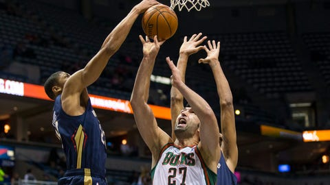 Pelicans at Bucks: 2/12/14