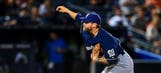 Brewers send Blazek to DL due to broken pitching hand