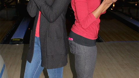 Sage and Bishara hit the lanes for a good cause.