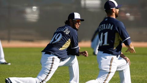 2014 Brewers spring training