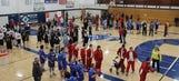Milwaukee Bucks Special Olympics Basketball Clinic