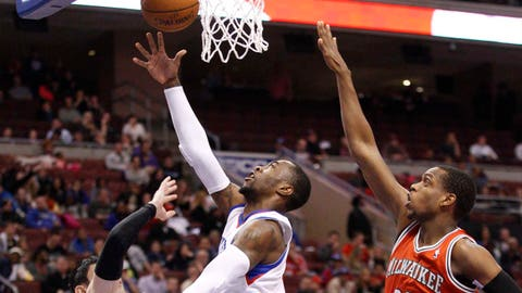 Bucks at 76ers: 2/24/14